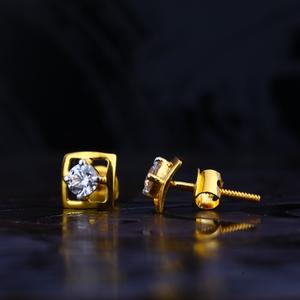 916 gold designer hallmark earring lse69