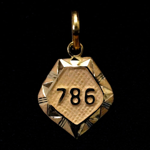 Plain pendants
