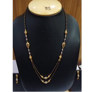 One gram gold double layer mangalsutra ag-m02