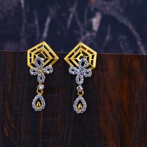22ct gold designer earrings lfe304