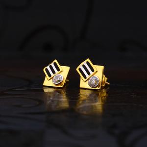 916 gold designer earring lse195