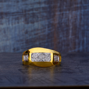 22kt cz exclusive ring mr493