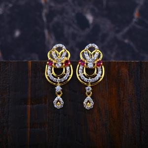 Ladies gold earrings-lfe18