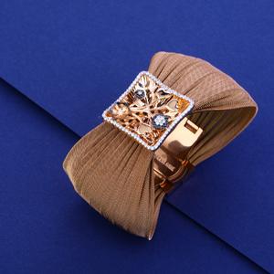18kt exclusive designer leather bracelet llkb