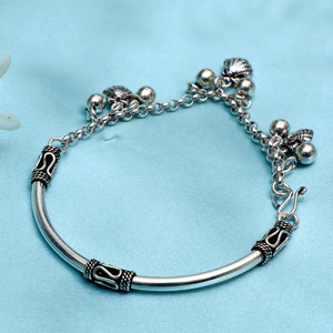 925 silver antique bracelet pj-b010