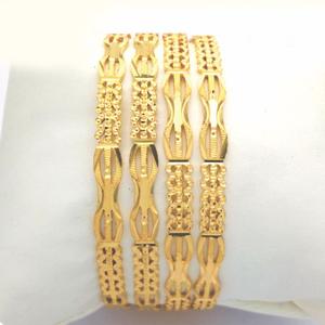Gold hallmark rawa bangle - 3lj792