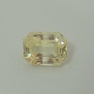 7.27ct rectangle yellow yellow-sapp