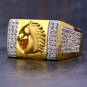 916  gold cz diamond designer hallmark men's