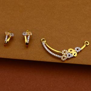 22kt gold classic mangalsutra pendant mp143