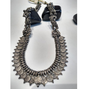 92.5 silver classic evergreen design necklace