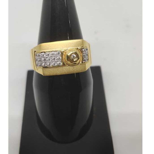 22k gents fancy gold ring gr-28624