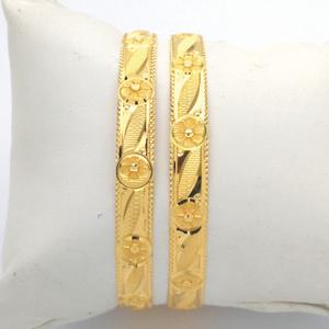 Gold hallmark khila bangle - hks1016