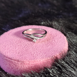 92.5 sterling silver liza ring for women