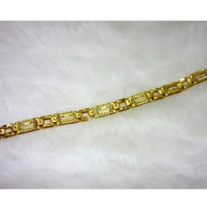 Gold dailywear gents bracelet
