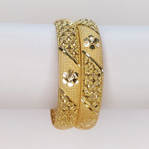 916 gold hallmark traditional bangle
