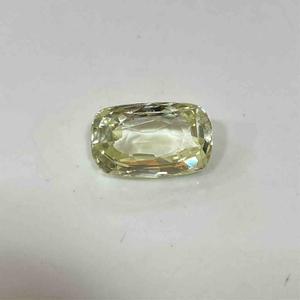 5.50ct cushion yellow yellow-sapphire-pukhraj