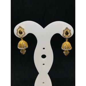 22k ladies fancy gold earring er-60034