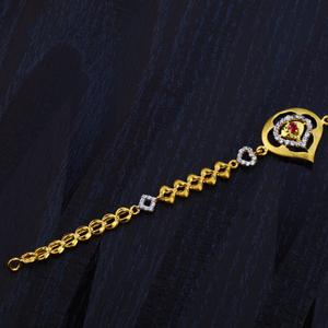 Ladies diamond 916 bracelet-lb70