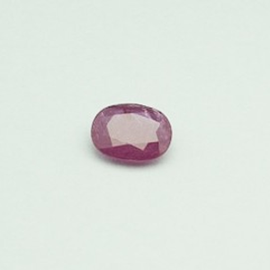 2.06ct oval red ruby-manek
