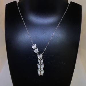 Fancy butterfly 925 necklace