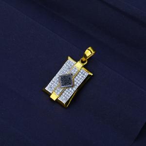 Men's exclusive 916 fancy gold pendant- mfp06