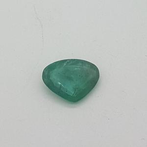 5.20ct heart green emerald-panna