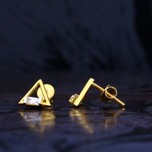 22ct gold stylish hallmark earring lse78