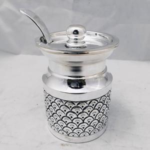 925 pure silver ghee dani (designer and antiq