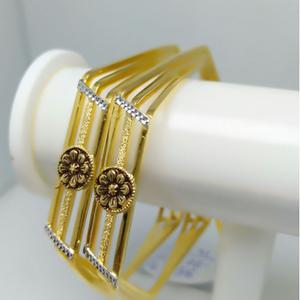 916 attractive gold women bangle gj-007
