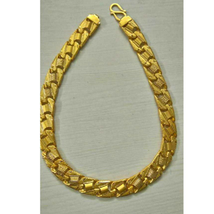 22kt gold singapori gents chain