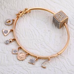 18kt rose gold stylish ladies bracelet  rlkb2