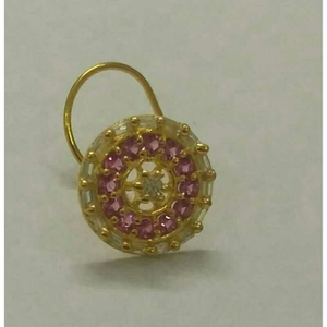 916 gold color diamond ladies nose pin