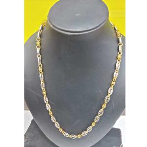 22k gents fancy gold chain g-9006