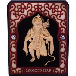 999 gold hanumanji frame