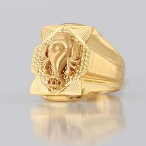 22 carat gold gents fency ring rh_gr114