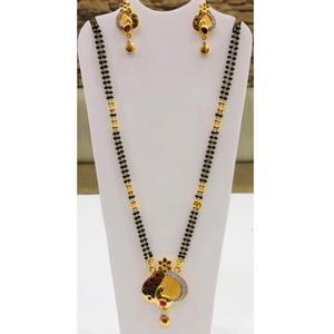 916 gold antique mangalsutra