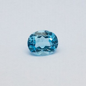 5.125ct oval sky-blue aquamarine