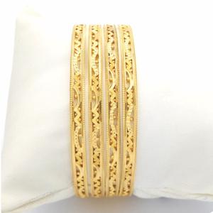 Gold hallmark rawa bangle - 3lr906