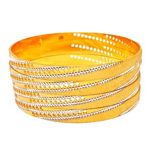 1 gram gold forming 4 piece bangles mga - bge