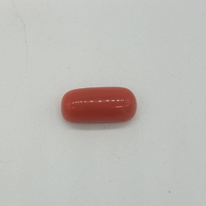5.7ct oval orange red-coral-mungaa
