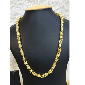 22k gents fancy gold chain g-8515