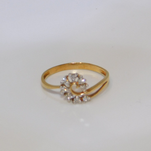 18k gold diamond ring agj-lr-142