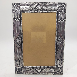 925 pure silver photo frame in antique nakash