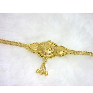 Gold 22k hm916 plain lappa lokit (bajubandh)