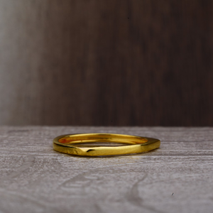 22ct gold plain ring lpr169