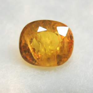 3.26ct (3.57 ratti) oval natural ye
