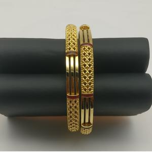 22kt designer gold copper kadli