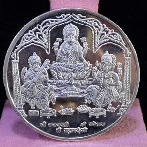 999 silver twenty five gram trimurti silver c
