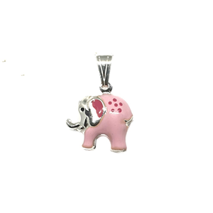 925 sterling silver elephant pendant mga - pd