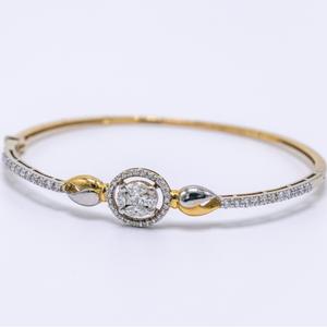 18k white gold diamond bracelet agj-lb-05